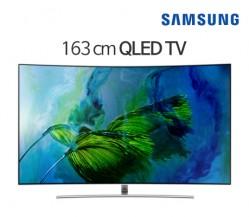 [삼성전자] 삼성 65형 17년 QLED TV QN65Q8CAMFXKR [스탠드브라켓 기본 포함]