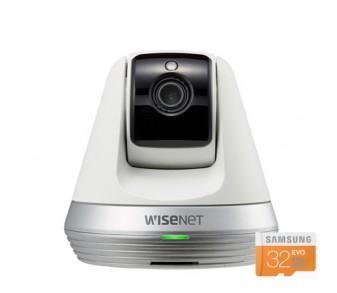 [한화테크윈] Pan&Tilt 홈카메라 SNH-V6410PNW [본체+32GB메모리]